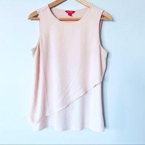 Women's Small Pale Pink sleeveless blouse